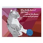 Furry Love Beasts Wall Calendar