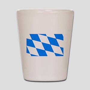 Bavarian flag Shot Glass
