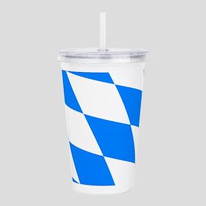 Bavarian flag Acrylic Double-wall Tumbler