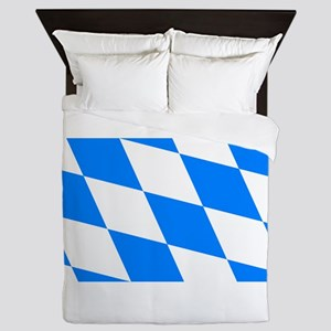 Bavarian flag Queen Duvet