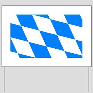 Bavarian flag Yard Sign