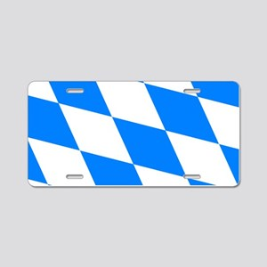 Bavarian flag Aluminum License Plate