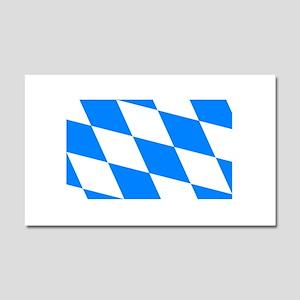Bavarian flag Car Magnet 20 x 12
