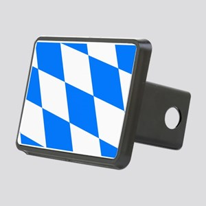 Bavarian flag Rectangular Hitch Cover