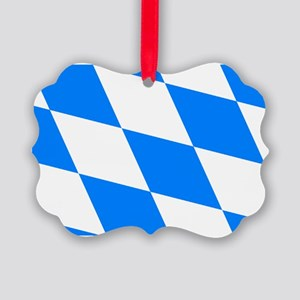 Bavarian flag Picture Ornament