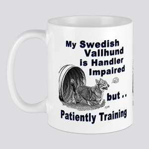 Swedish Vallhund Agility Mug