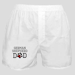 German Shepherd Dad Boxer Shorts