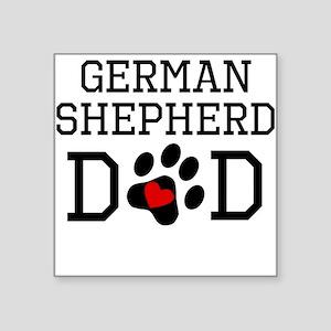 German Shepherd Dad Sticker
