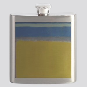 ROTHKO BLUE YELLOW Flask