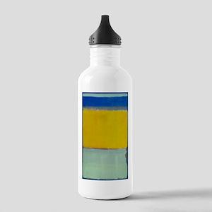 ROTHKO BLUE YELLOW Water Bottle