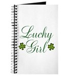 Lucky Girl Shamrocks Journal