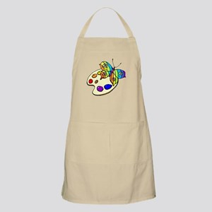 Butterfly And Paint Apron