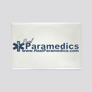 Paramedic Baseball Logo Rectangle Magnet