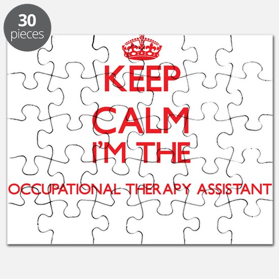 Keep calm I'm the Occupational Therapy Assi Puzzle