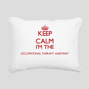 Keep calm I'm the Occupa Rectangular Canvas Pillow