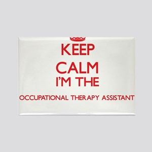 Keep calm I'm the Occupational Therapy Ass Magnets