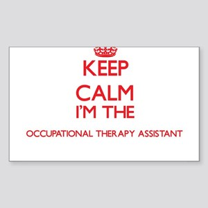 Keep calm I'm the Occupational Therapy Ass Sticker