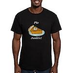 Pie Junkie Men's Fitted T-Shirt (dark)