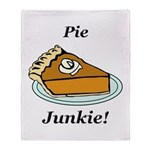 Pie Junkie Throw Blanket