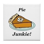 Pie Junkie Tile Coaster