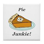 Pie Junkie Tile Coaster
