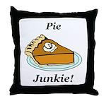 Pie Junkie Throw Pillow