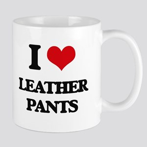 leather pants Mugs