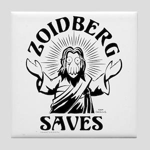 Zoidberg Saves Tile Coaster