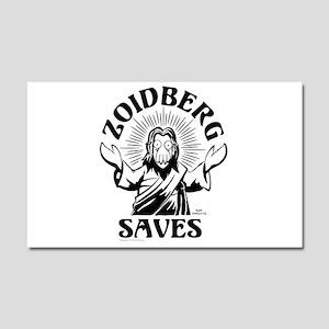 Zoidberg Saves Car Magnet 20 x 12
