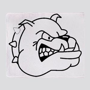 Bulldog Throw Blanket