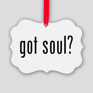 got soul? Picture Ornament