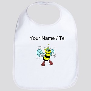 Custom Friendly Bee Bib