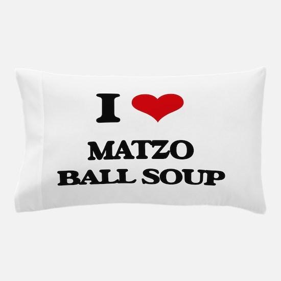 matzo ball soup Pillow Case