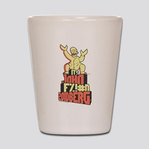 Futurama John Fing Zoidberg Shot Glass