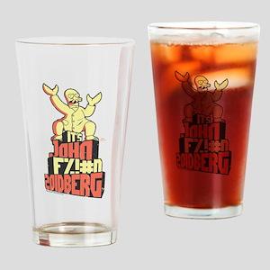 Futurama John Fing Zoidberg Drinking Glass