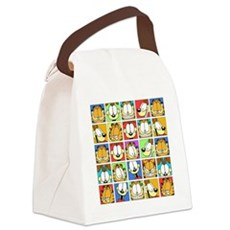 Garfield Face Time Canvas Lunch Bag
