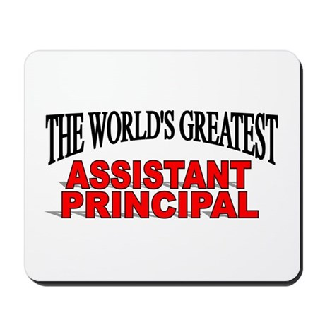 """The World's Greatest Assistant Principal"" Mousepa"