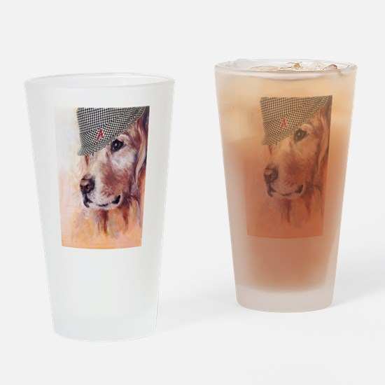 Old Alabama Dog Drinking Glass