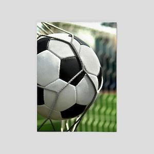 Soccer Goal 5'x7'Area Rug