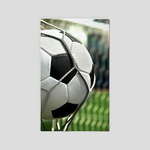 Soccer Goal Area Rug