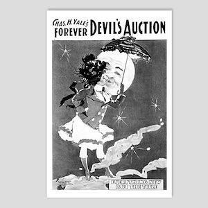 DEVIL'S AUCTION postcard (package of 8)