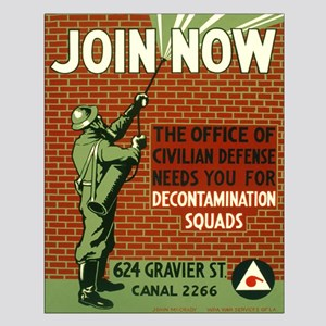 DECONTAMINATION poster 16x20