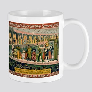 BARNUM AND BAILEY FREAK SHOW coffee cup