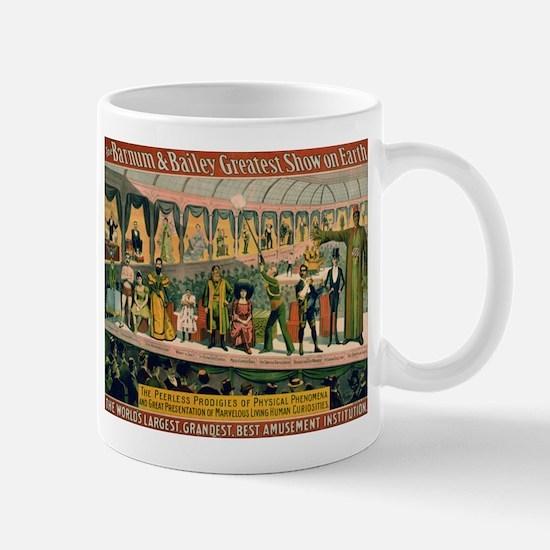 BARNUM AND BAILEY FREAK SHOW coffee cup