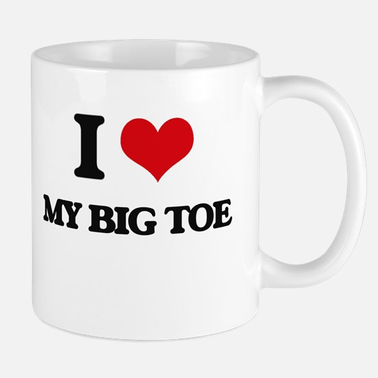 my big toe Mugs