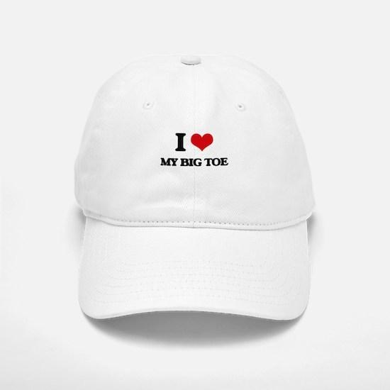 my big toe Baseball Baseball Cap