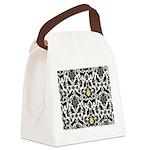 Damsel Cat by Traci K Canvas Lunch Bag
