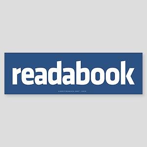 Readabook Bumper Sticker