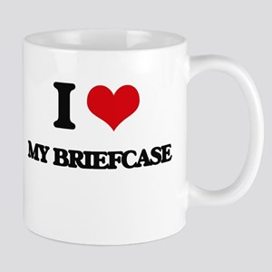 my briefcase Mugs