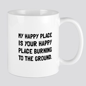 Happy Place Burning Mugs